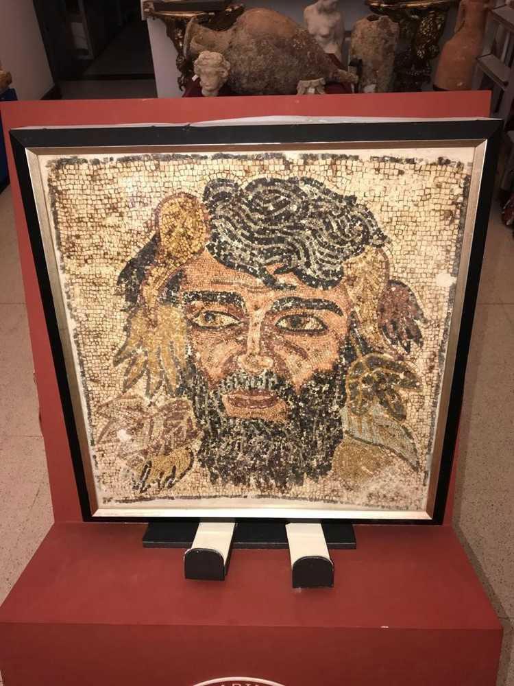 L'Italia recupera negli USA due preziosissimi beni trafugati: un mosaico romano e una lettera di san Giovanni Bosco