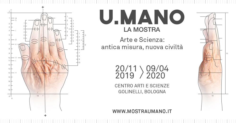 La Fondazione Golinelli incentra una mostra sulla mano come emblema del legame tra arte e scienza