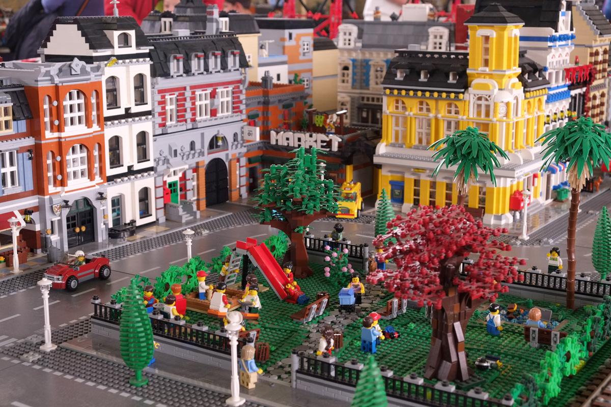 La mostra con la città di Lego arriva anche a Roma, giusto in tempo per il Natale