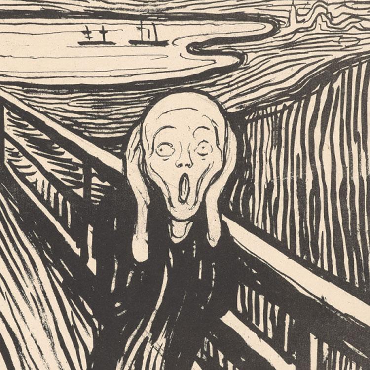 Al British Museum una grande mostra dedicata alle incisioni di Edvard Munch