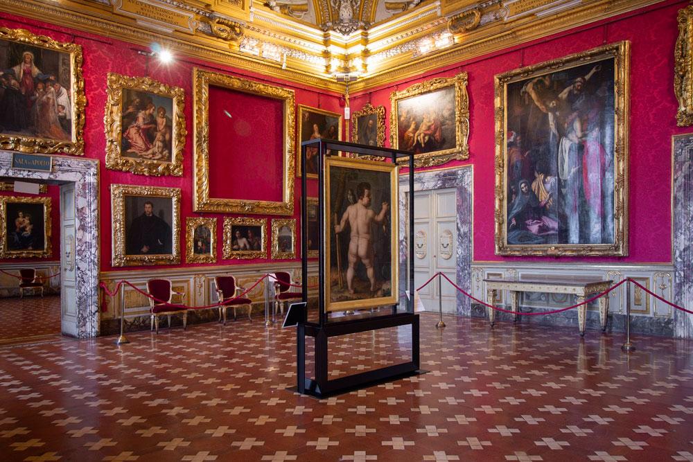 Il nano Morgante fa ritorno a Palazzo Pitti