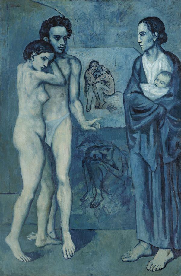 In Svizzera la più grande mostra sul periodo blu e rosa di Pablo Picasso. Alla Fondation Beyeler