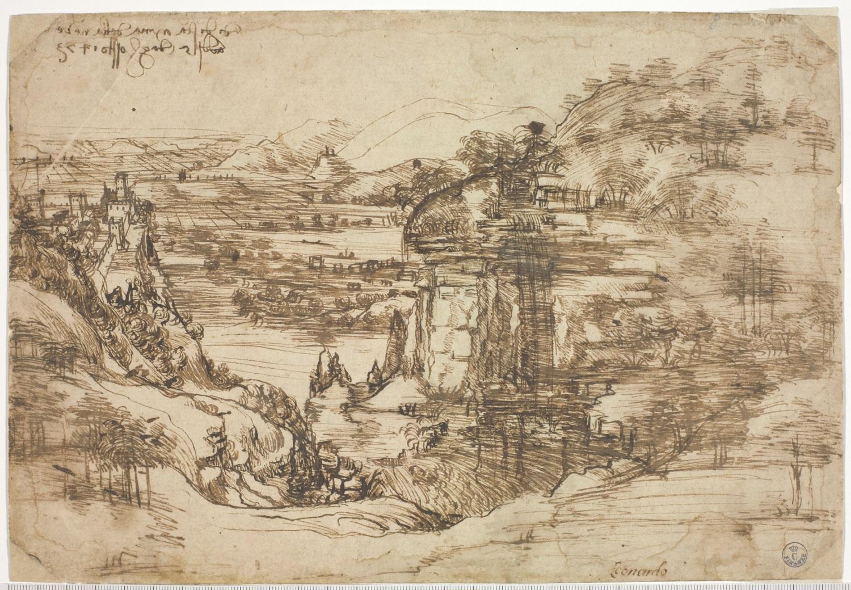 Leonardo al Louvre, Montanari nota che partirà anche il Paesaggio degli Uffizi. E si scontra con Schmidt