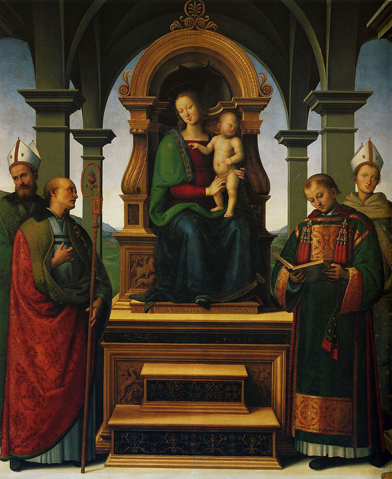 La Pala dei Decemviri del Perugino torna dopo due secoli nella sua collocazione originaria