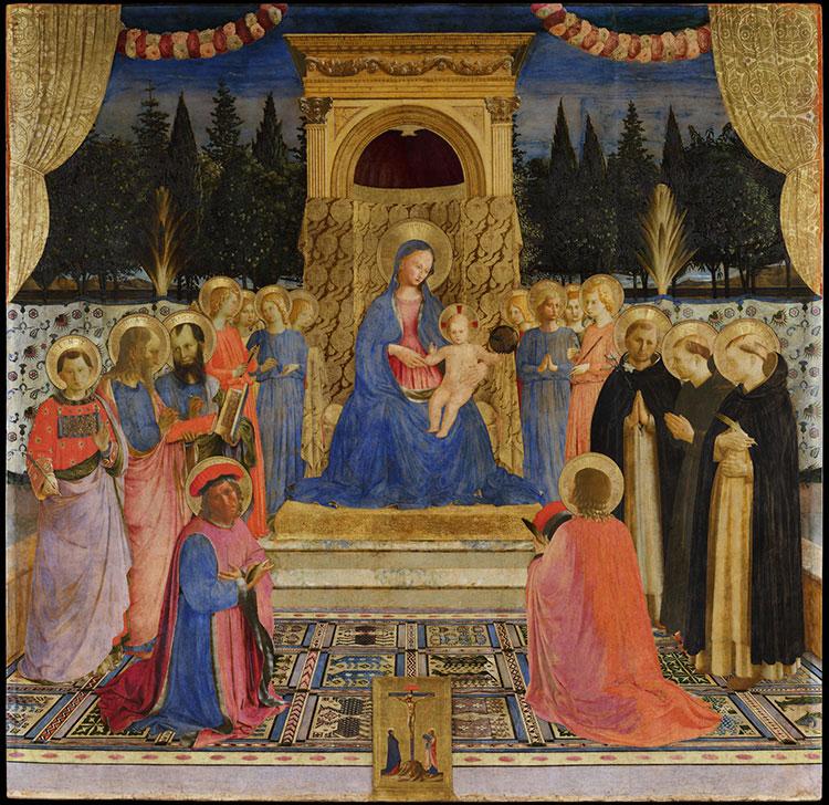 La Pala di San Marco del Beato Angelico torna dopo il restauro al Museo di San Marco