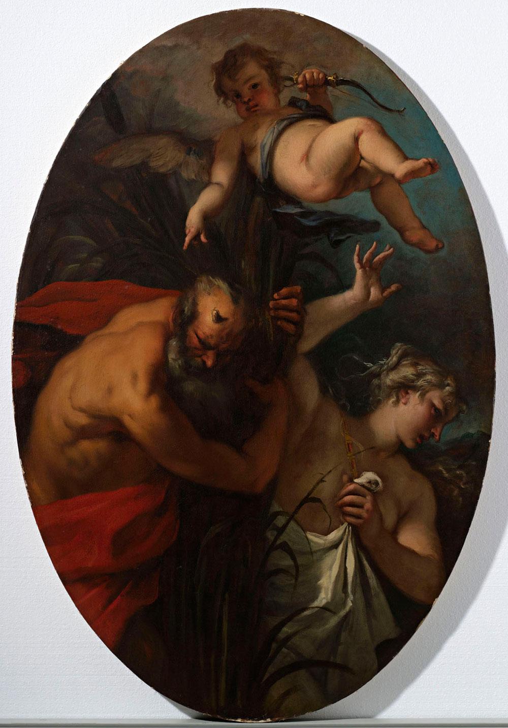 Acquisito da Fondazione Cariverona Pan e Siringa di Sebastiano Ricci. Andrà a riunirsi al ciclo riccesco di Palazzo Fulcis