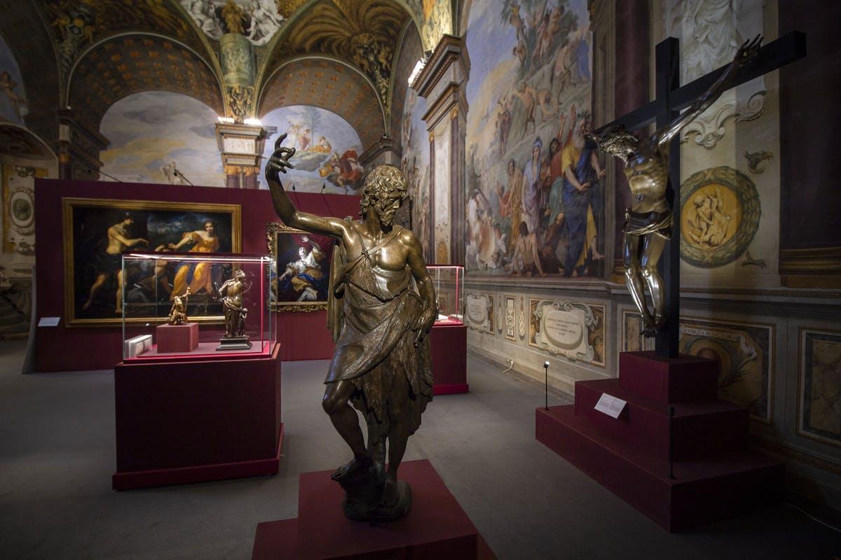 Firenze, la scultura bronzea ai tempi degli ultimi Medici è in mostra a Palazzo Pitti
