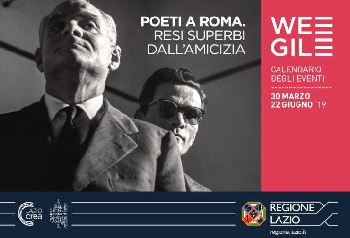 Poeti a Roma: da Pasolini a Moravia, una mostra racconta i grandi letterati del Novecento