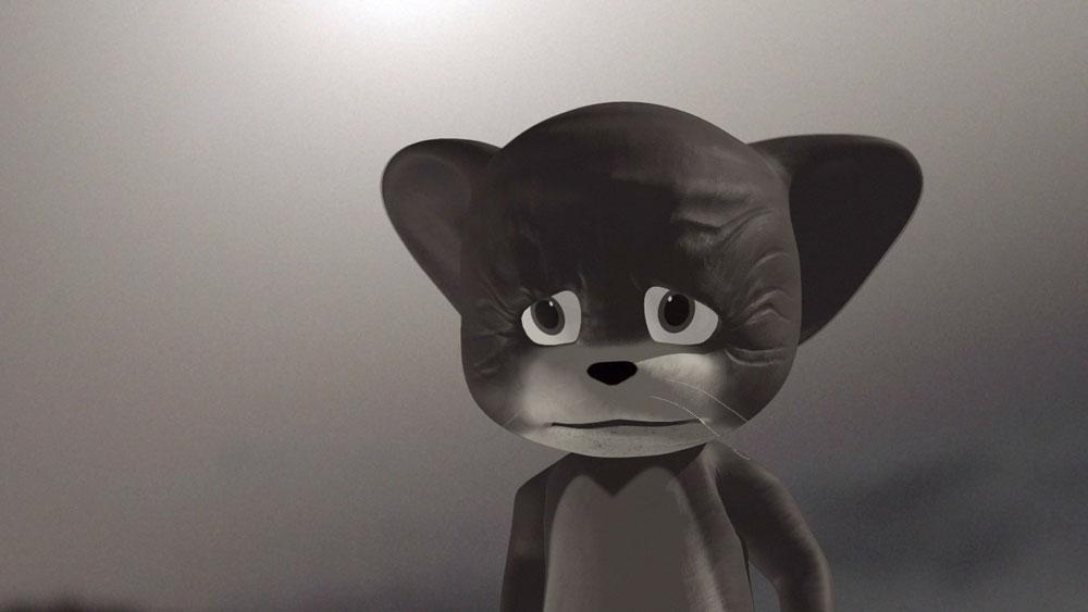 Il topolino Jerry protagonista della video arte a Villa Zito
