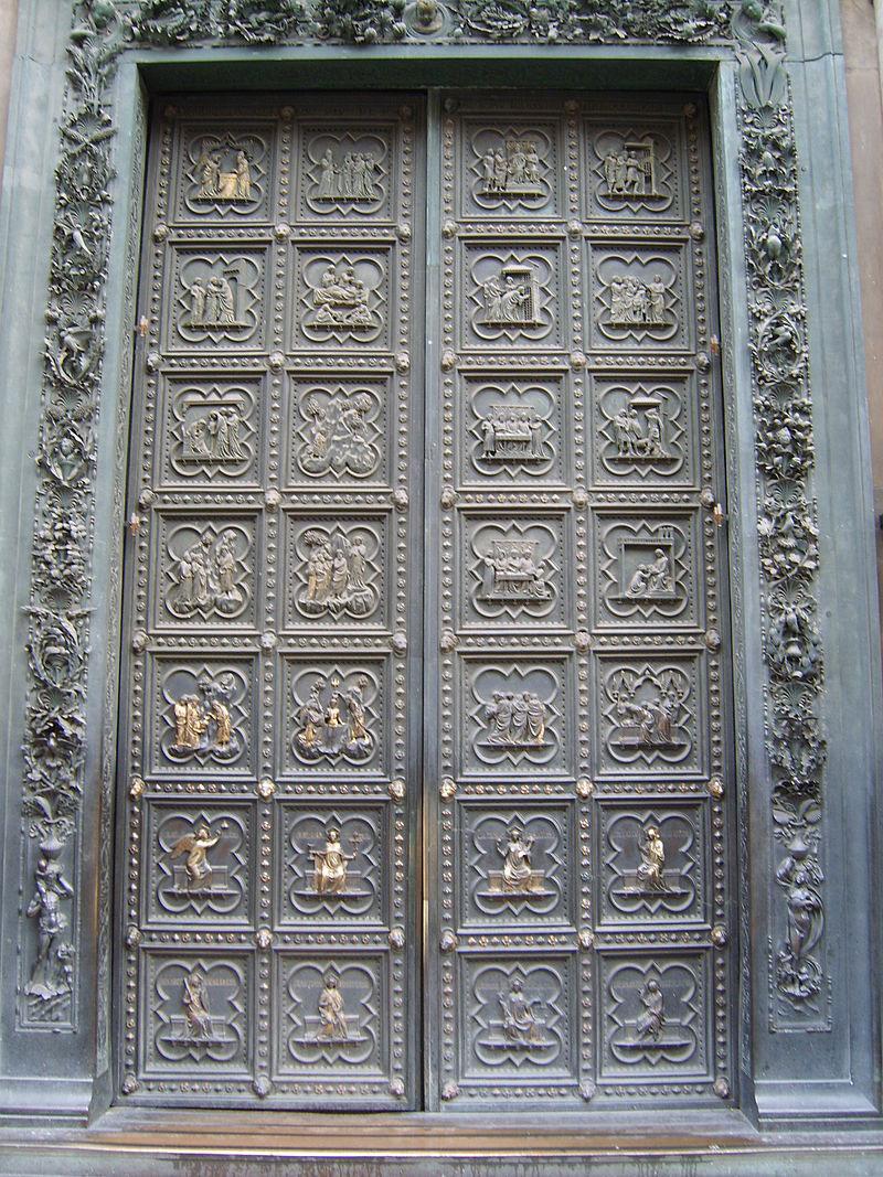 Restaurata la Porta Sud del Battistero di Firenze. Da dicembre tornerà visibile nel Museo dell'Opera del Duomo