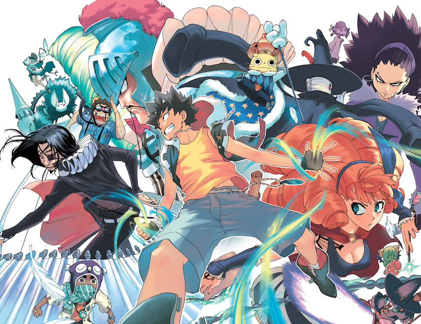 A Rovigo in mostra un manga... europeo: una rassegna tutta dedicata a Radiant, fumetto in stile giapponese