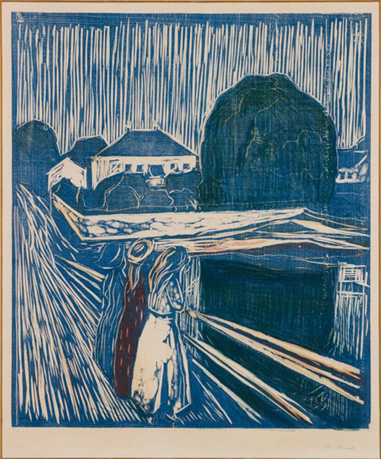 Al MASI di Lugano le incisioni di Gertsch in dialogo con le xilografie di Gauguin e Munch
