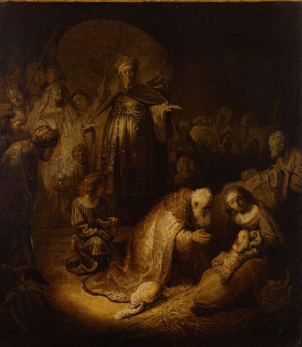 L'Adorazione dei Magi di Rembrandt dall'Hermitage al Complesso della Pilotta
