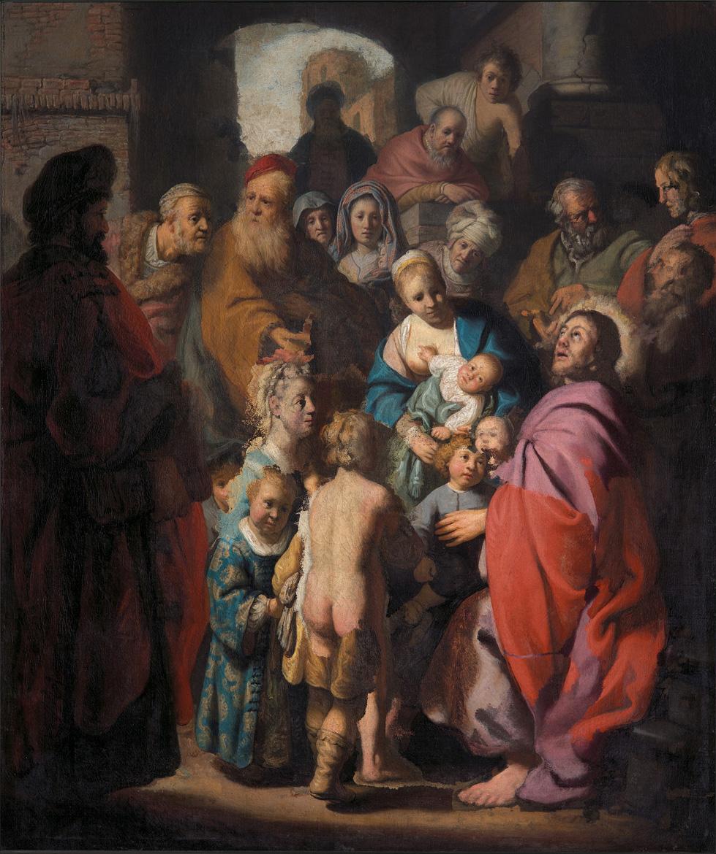 In mostra per la prima volta il dipinto recentemente attribuito a Rembrandt