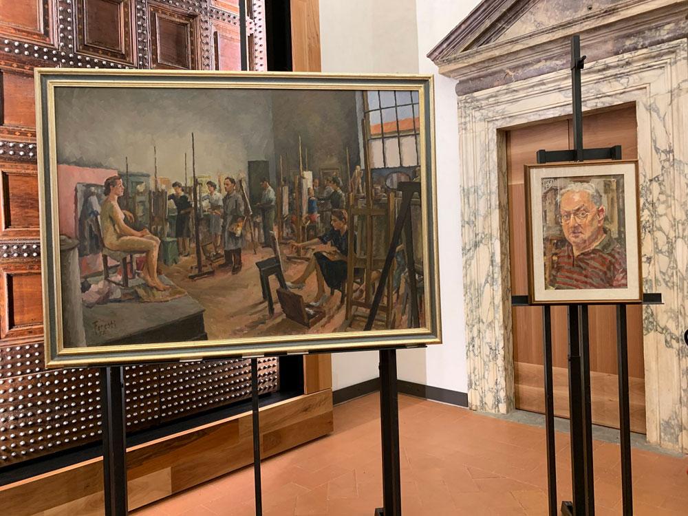 Le Gallerie degli Uffizi acquisiscono due nuovi dipinti di Renato Foresti