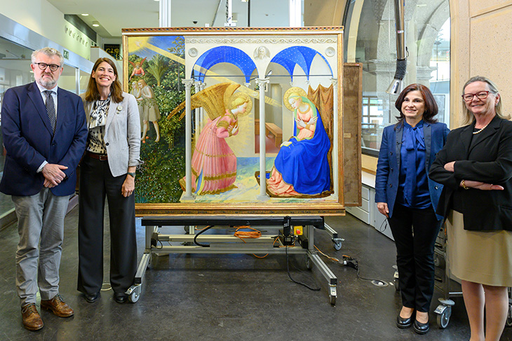 Spagna, finisce dopo un anno il restauro dell'Annunciazione del Beato Angelico al Prado