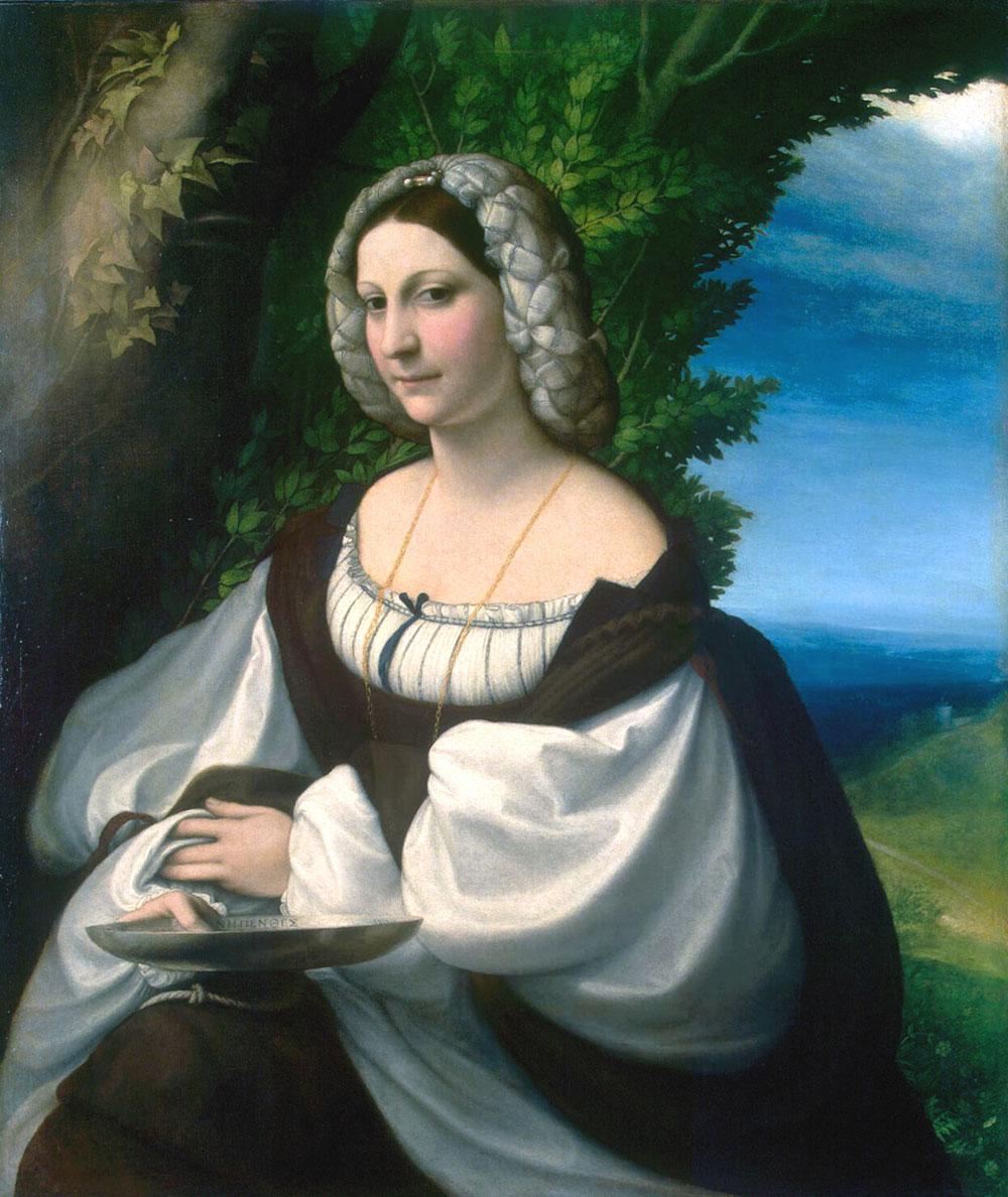 Il Ritratto di giovane donna del Correggio dall'Hermitage a Reggio Emilia