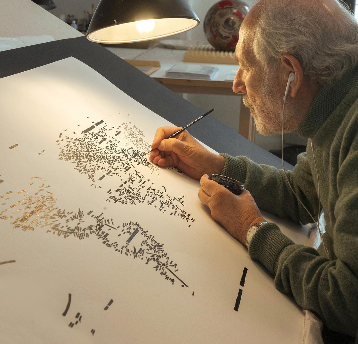 Venezia, la grande mostra su Emilio Isgrò, curata da Germano Celant, alla Fondazione Cini