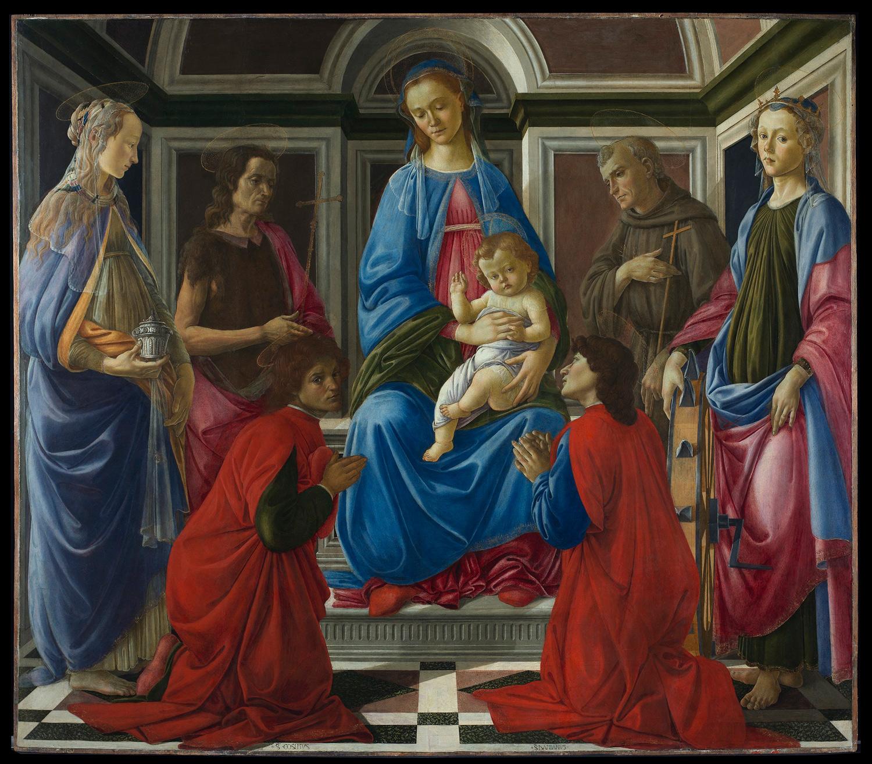 Uffizi, il restauro della Pala di Sant'Ambrogio di Botticelli svela tutti i dubbi e le incertezze del giovane pittore
