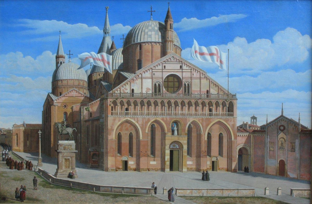 Padova, come la Basilica di Sant'Antonio è stata rappresentata nei secoli: una mostra al Museo Antoniano. Le foto