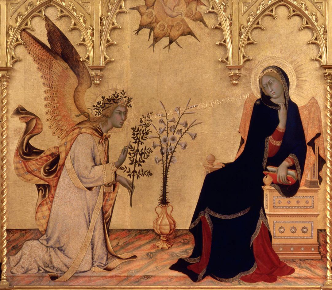 Per Natale, gli Uffizi presentano la mostra virtuale sugli angeli, con opere di Giotto, Simone Martini, Botticelli