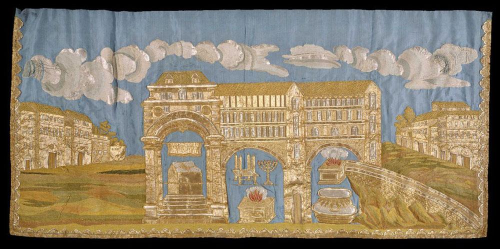Tessuti preziosi dal mondo ebraico: dall'antichità all'imprenditoria tessile moderna