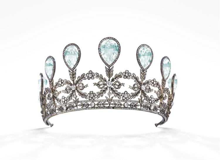 All'asta da Christie's andrà una tiara reale realizzata da Fabergé per la principessa Alexandra di Hannover