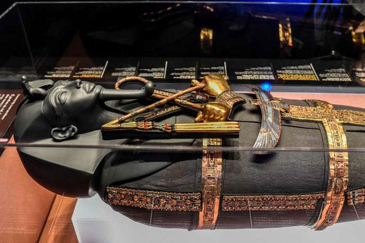La mostra più visitata di tutti i tempi in Francia è quella dedicata a Tutankhamon e ai suoi tesori