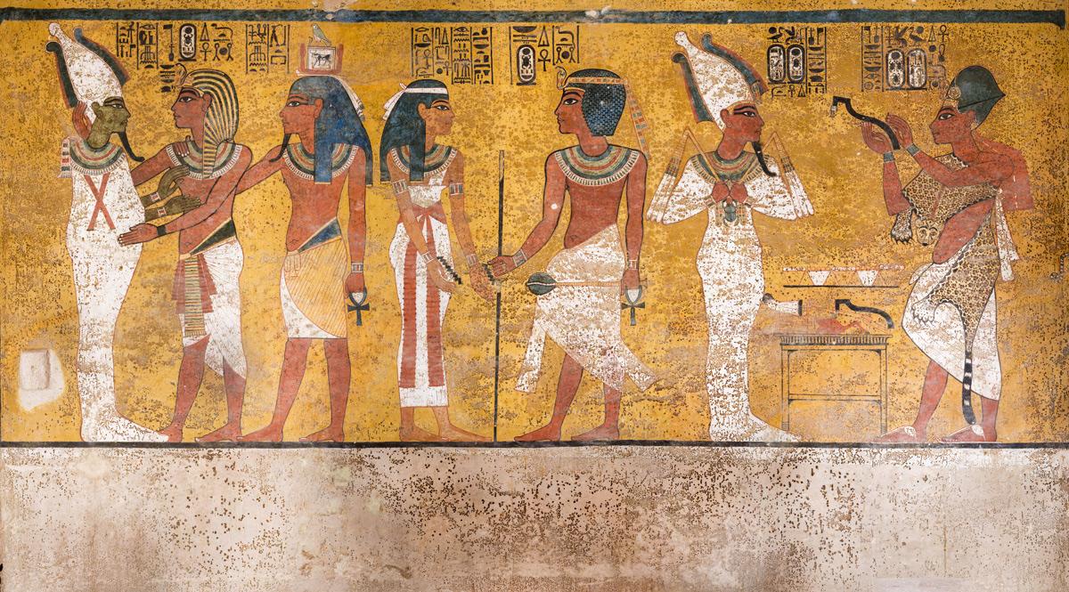Egitto, termina dopo dieci anni il restauro della tomba del faraone Tutankhamon