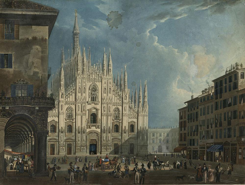 Milano vista da Leopardi. Una mostra a duecento anni da L'Infinito