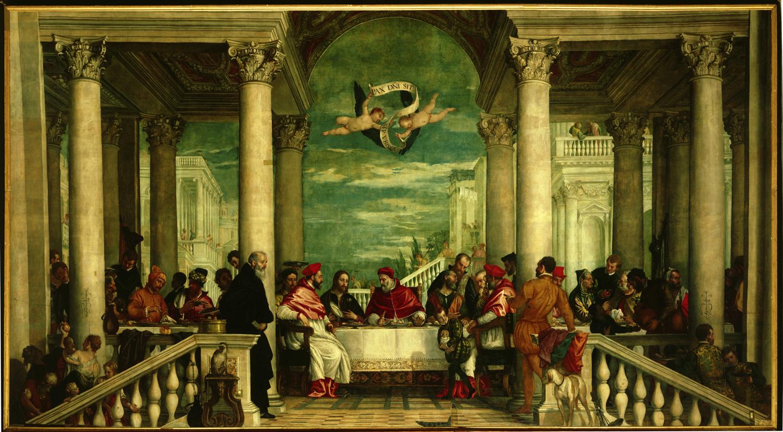 """Vicenza, va in restauro il capolavoro del Veronese, la """"Cena di san Gregorio Magno"""" del Monte Berico"""