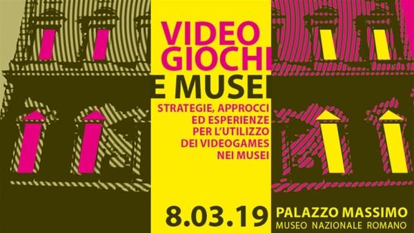 A Roma una giornata di studi dedicata al ruolo dei videogiochi nei musei
