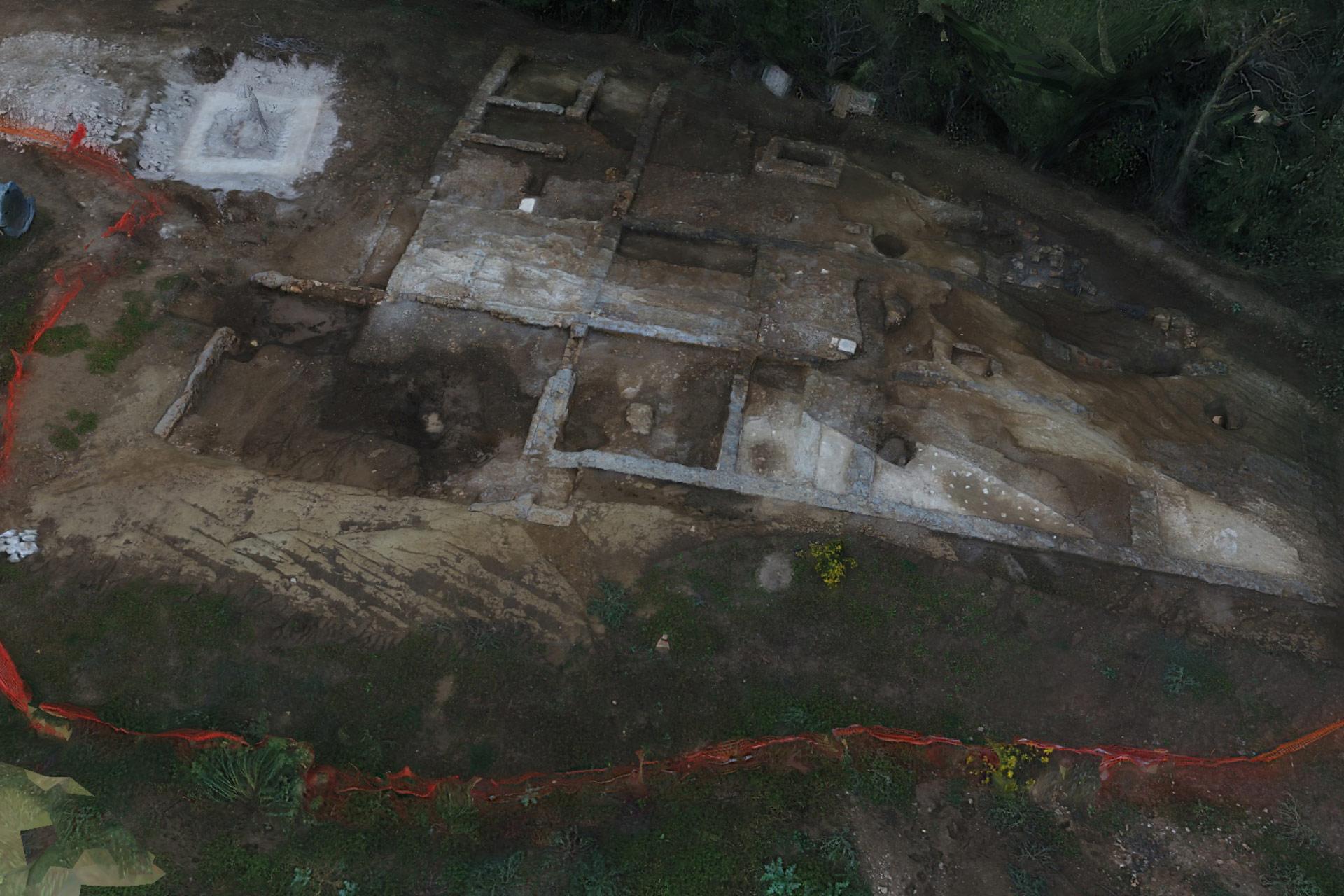 Roma, scoperta Villa Rustica di età romana nella riserva della Marcigliana