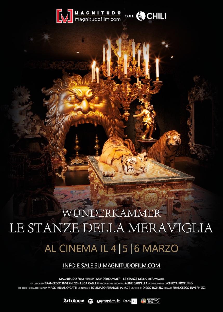 Wunderkammer. Le stanze della meraviglia: al cinema dal 4 al 6 marzo 2019