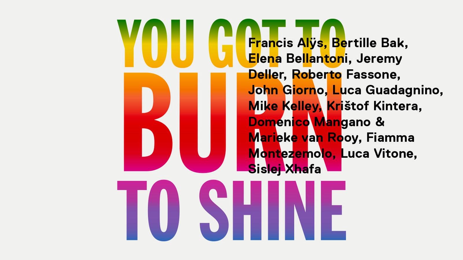 """""""You Got to Burn to Shine"""": una mostra alla GNAM racconta la complessità dell'individuo nello stare al mondo"""
