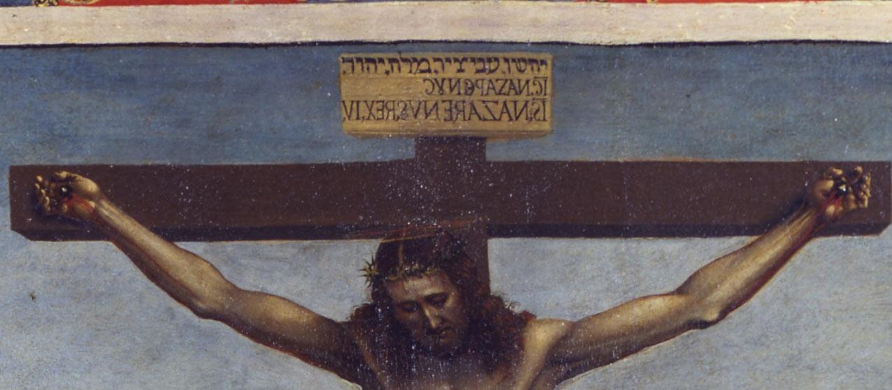 Il Titulus Crucis nello Stendardo dello Spirito Santo