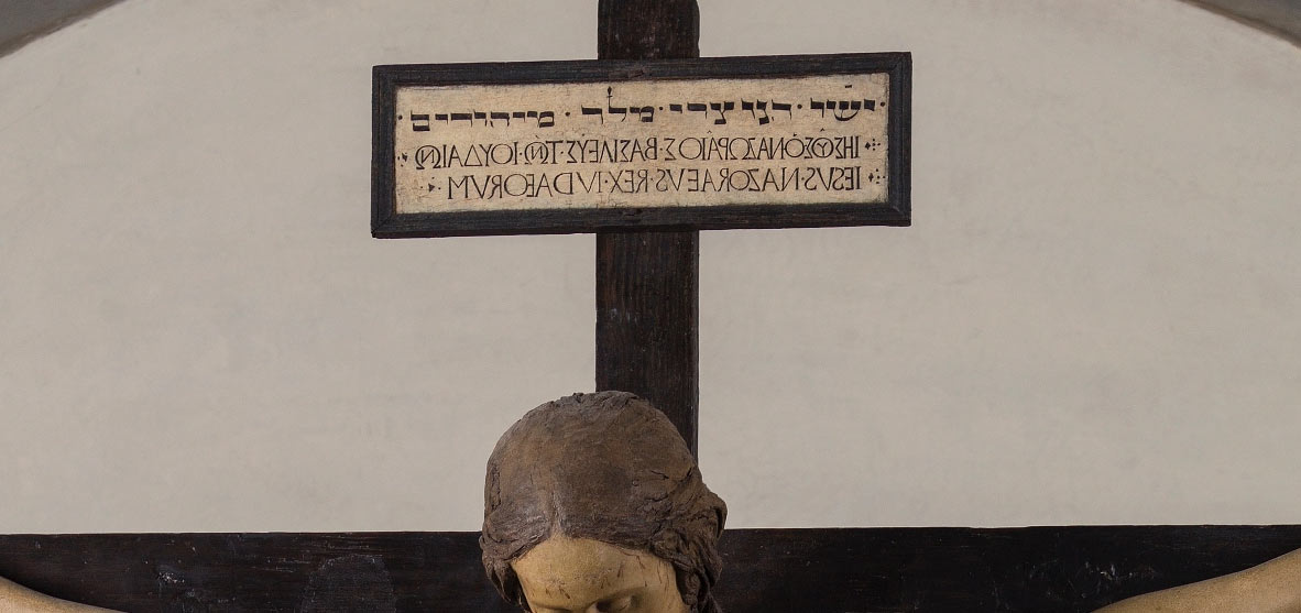 Il Titulus Crucis sul Crocifisso di Santo Spirito