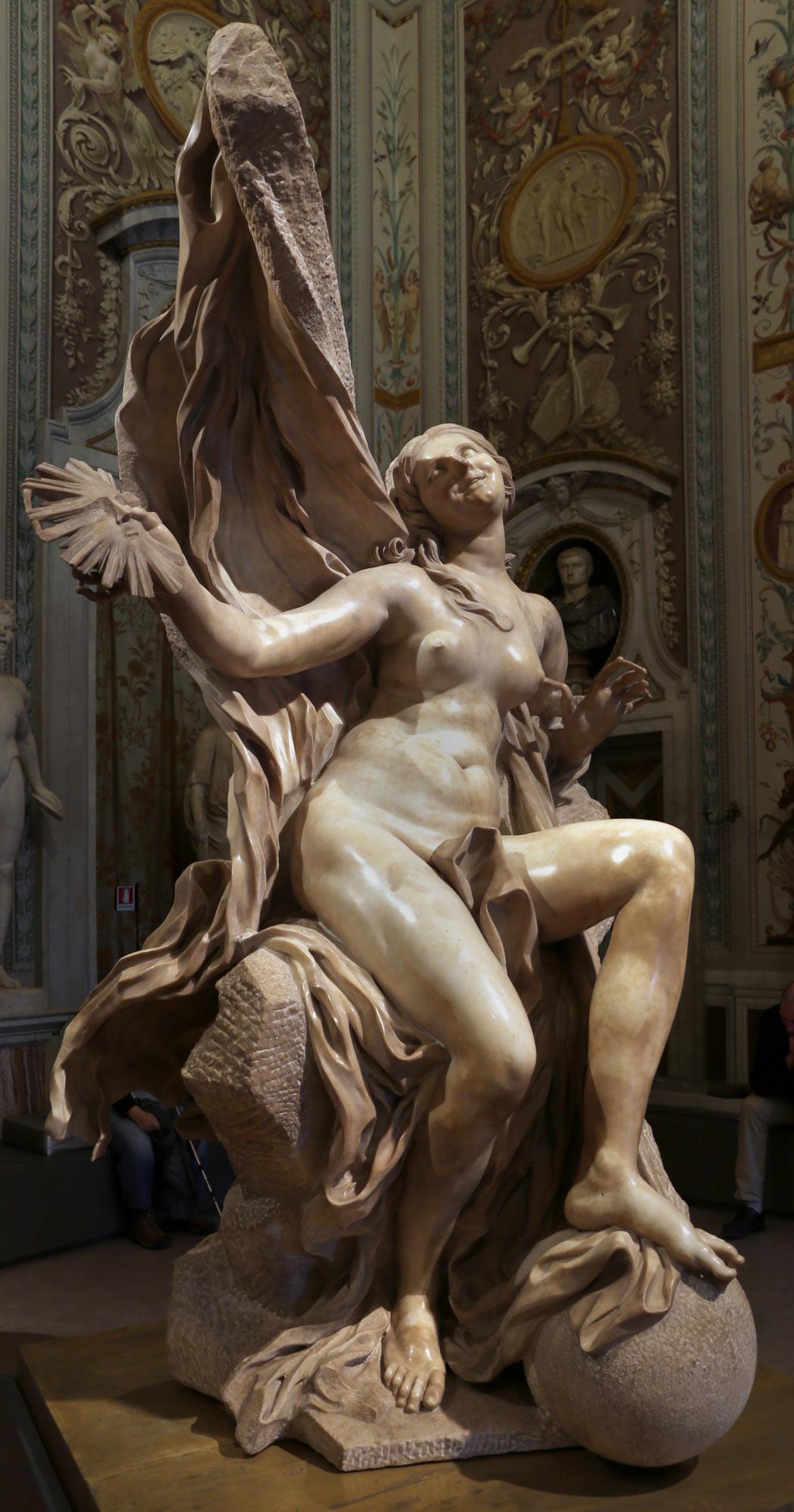 Gian Lorenzo Bernini, La Verità svelata dal Tempo, dettaglio. Ph. Credit Francesco Bini