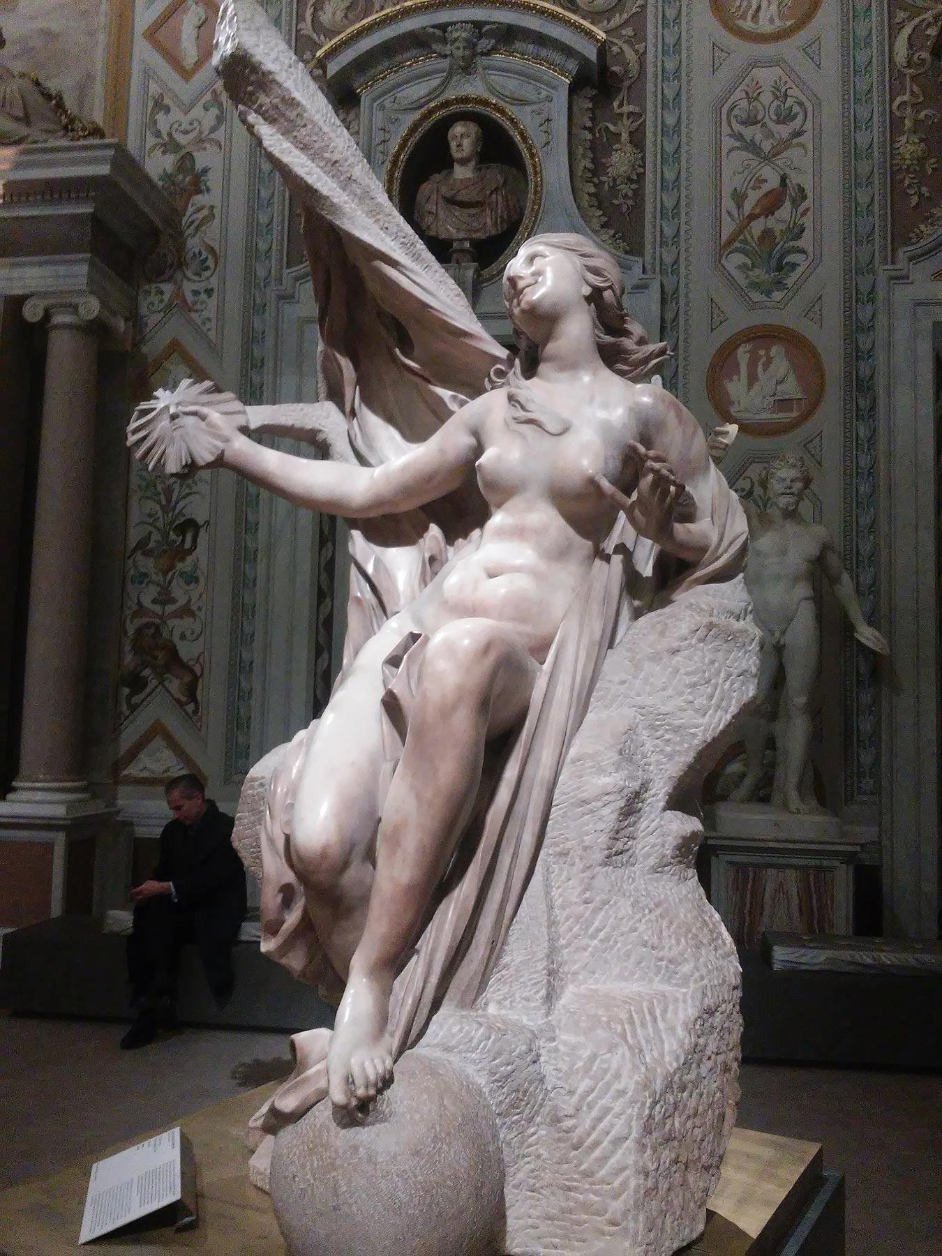 Gian Lorenzo Bernini, La Verità svelata dal Tempo, dettaglio. Ph. Credit Finestre sull'Arte