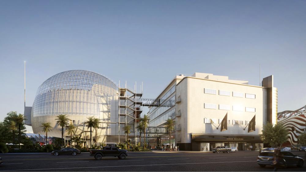 Inaugurerà a fine anno il Museo degli Oscar a Los Angeles. E porta la firma di Renzo Piano
