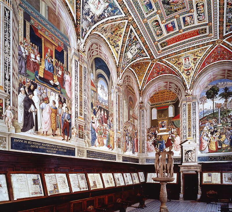Siena, finiti i restauri alla Libreria Piccolomini del Duomo. Il capolavoro di nuovo aperto