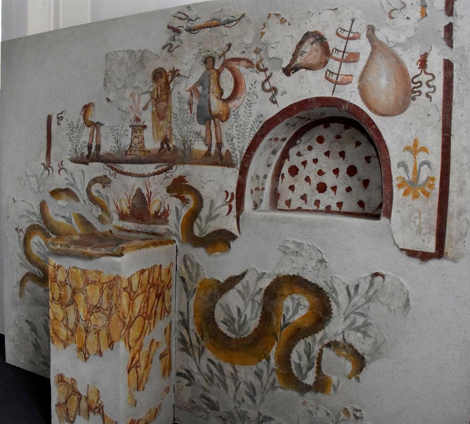 Pompei oltre le mura. Al MATT in mostra i reperti e gli affreschi delle ville di Terzigno