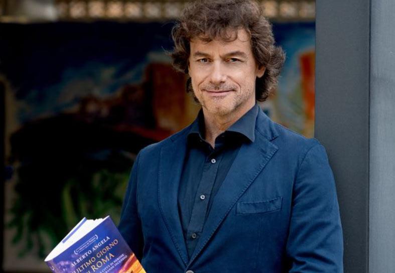 Alberto Angela non ti lascia: sotto l'albero di Natale il suo libro sull'incendio di Roma