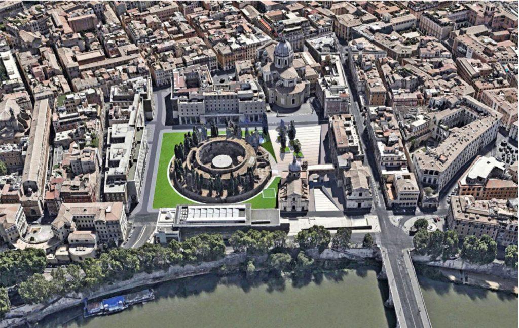 Roma, riaprirà in primavera il Mausoleo di Augusto. Ecco come verrà sistemata l'area