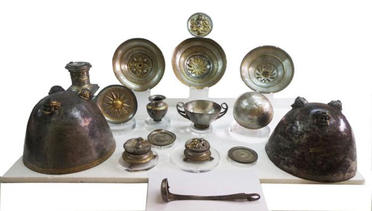 Gli Argenti di Morgantina tornano dopo quattro anni in Sicilia. Esposti al Museo Archeologico di Aidone