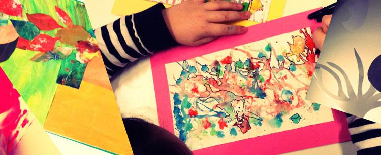 """""""Così facciamo fare arte ai bambini a distanza durante la quarantena"""". Ecco il progetto """"Arte alla finestra"""""""