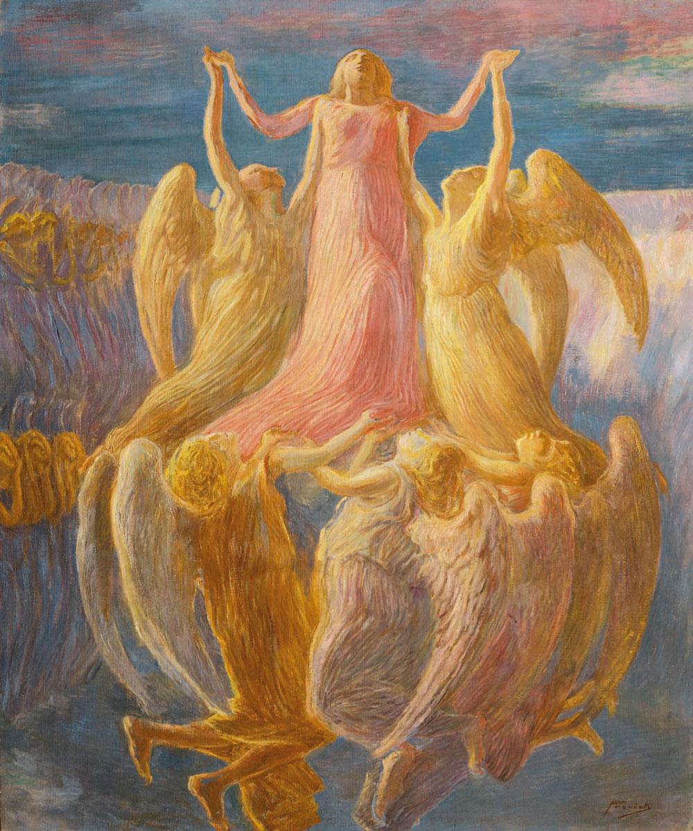 A Ferrara la mostra-omaggio a Gaetano Previati, pittore tra Simbolismo e Futurismo