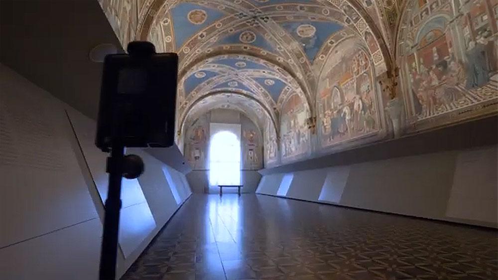Visitare Santa Maria della Scala pilotando un Avatar da casa