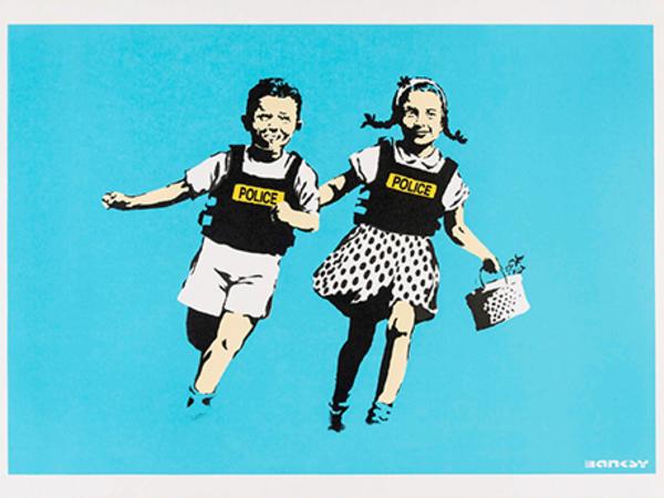 Roma, apre la mostra di Banksy: oltre 100 opere al Chiostro del Bramante