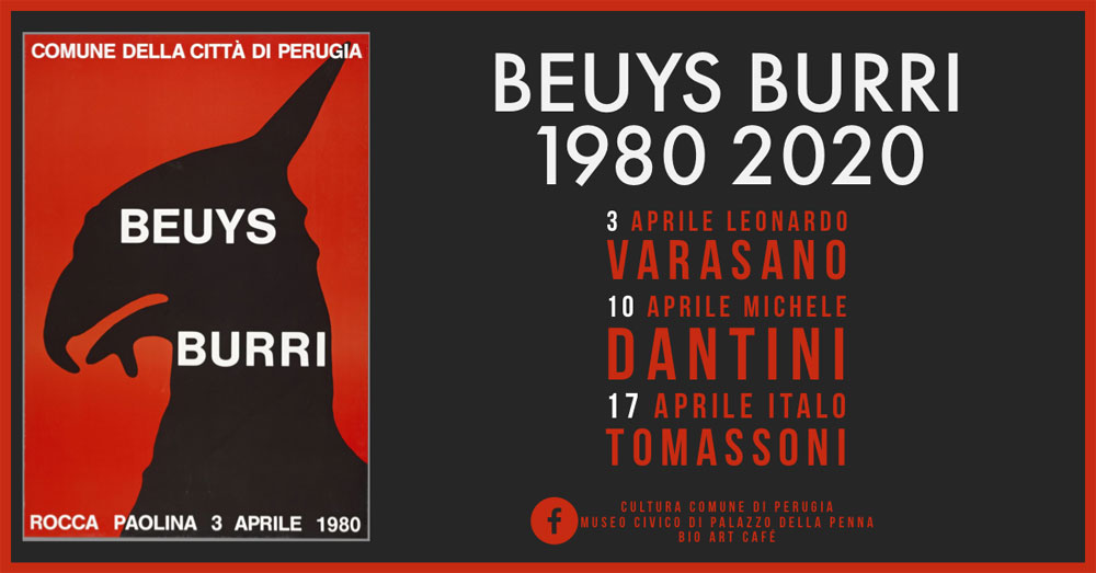Quarant'anni dopo: lo storico incontro a Perugia tra Burri e Beuys